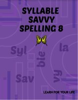 Syllable Savvy Spelling 8