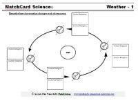 Changing Seasons Worksheet