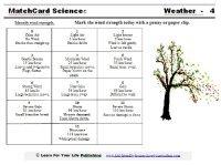 Beaufort Scale Worksheet