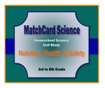 Nutrition, Health, and Safety Unit Study Cover