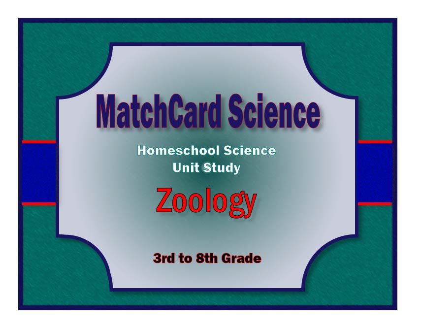Zoology Unit Study Cover