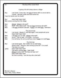 Aesop's Scripts