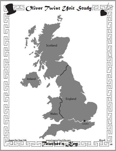 Oliver Twist Geography