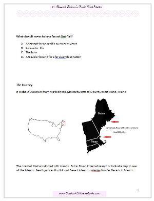 calico bush unit study page