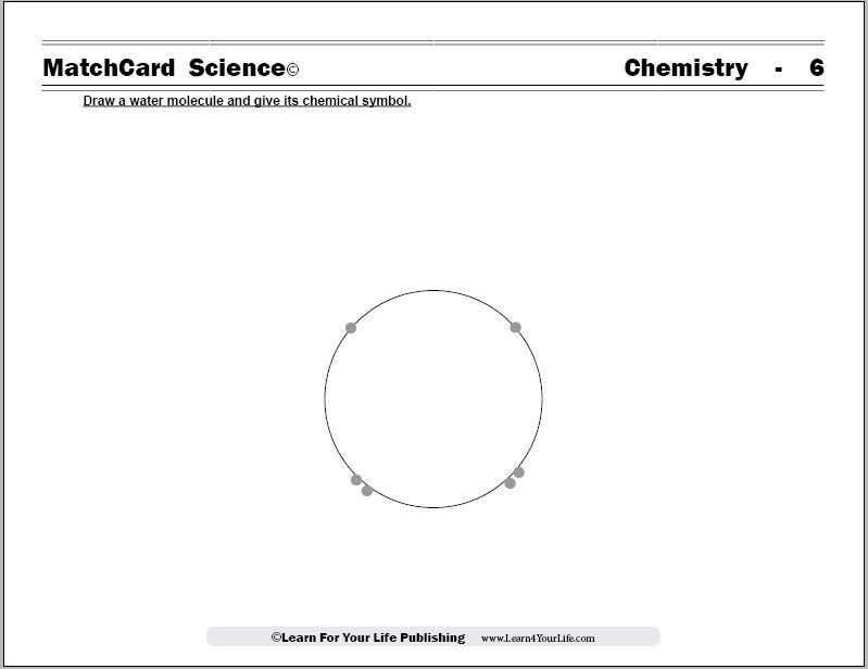 Molecule Worksheet