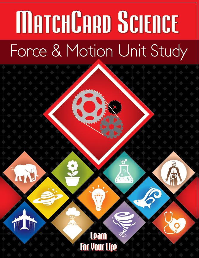 Force and Motion MatchCard