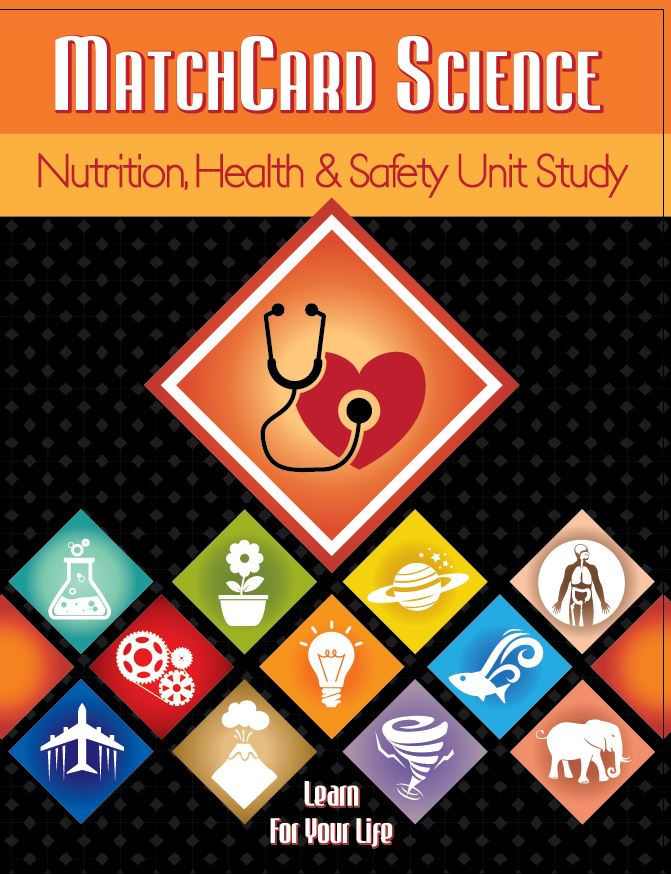 Nutrition Health and Safety MatchCard