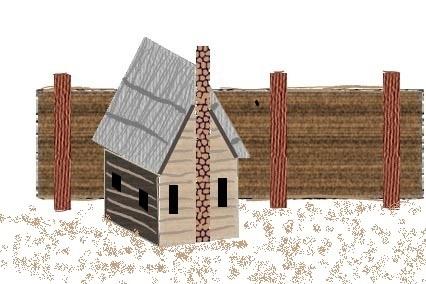 1607 Cottage in Jamestown Settlement