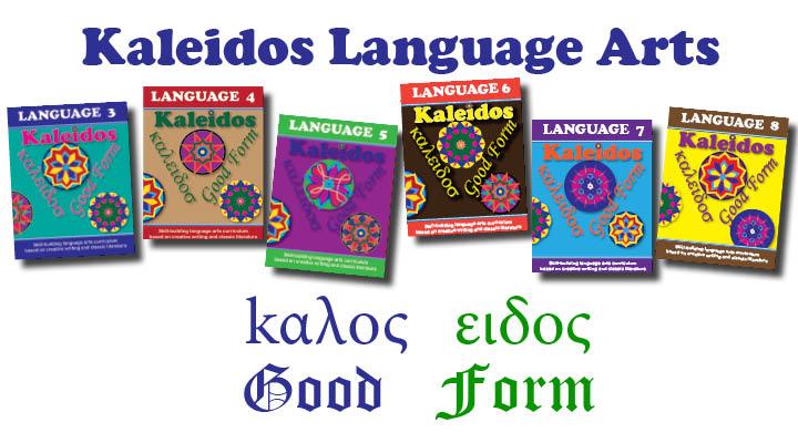 Kaleidos Language Arts Books