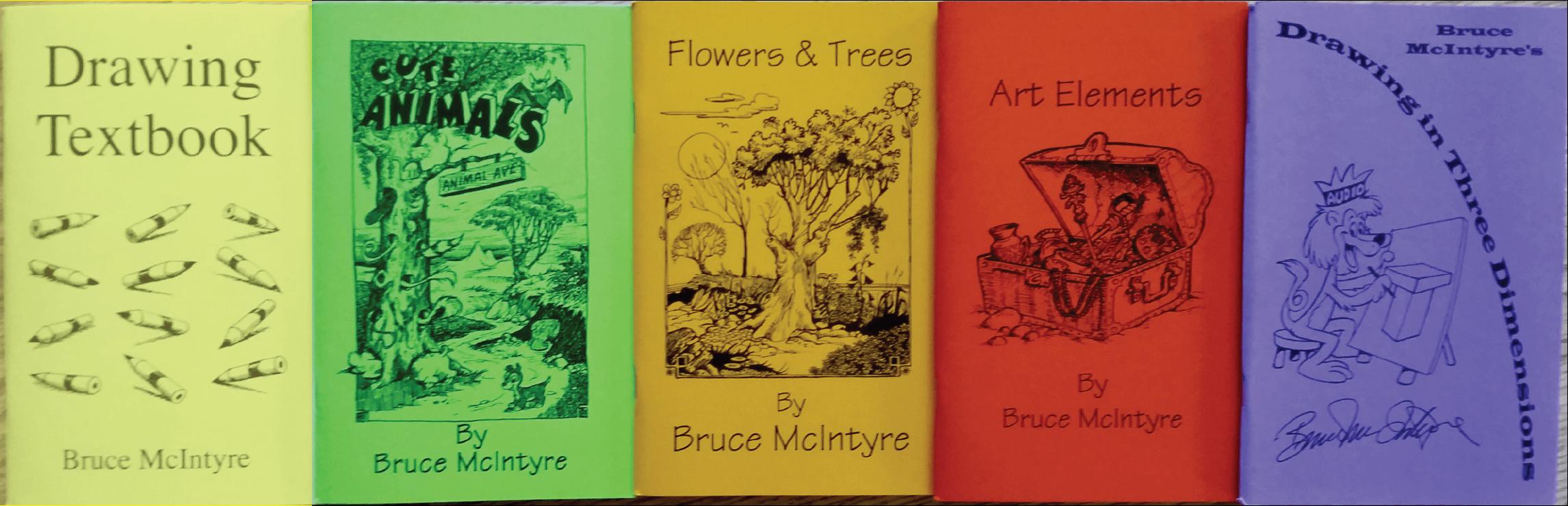 McIntyre Drawing Books