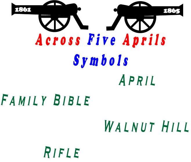 Across Five Aprils Symbols