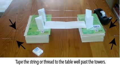 Model Bridge Building
