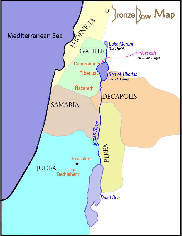 Bronze Bow - Provinces of Palestine