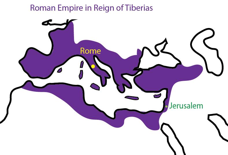 Bronze Bow Map of Roman Empire
