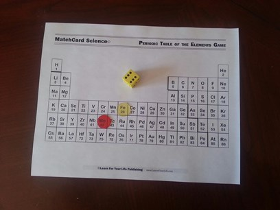 MatchCard Science Periodic Table Game