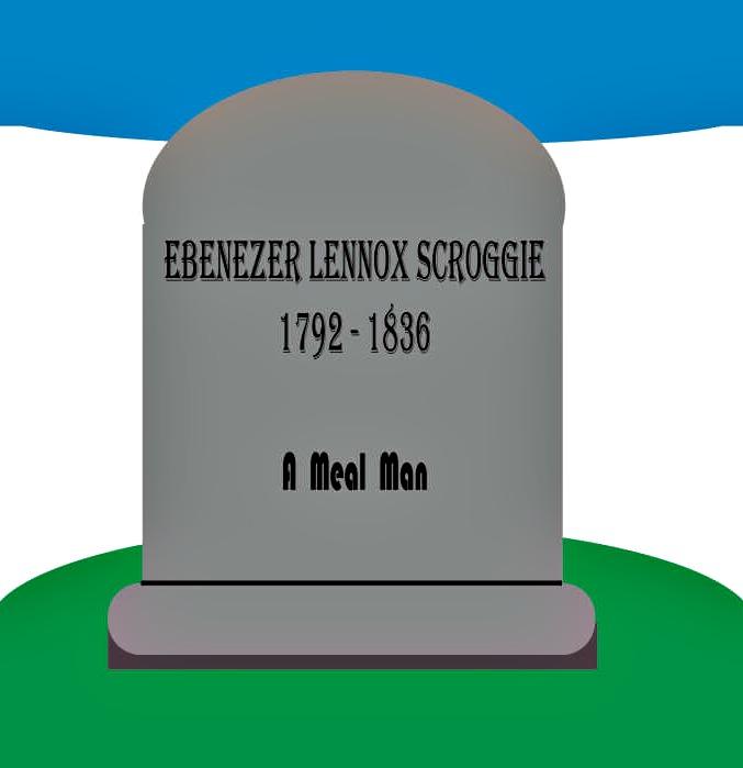 Ebenezer Scroggie Tombstone
