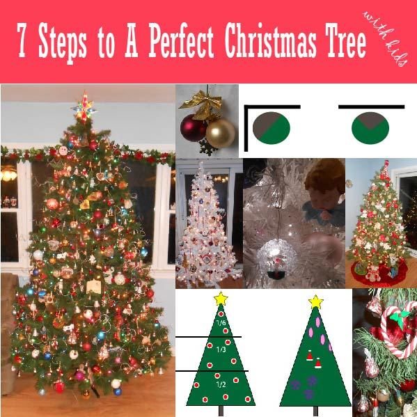 7 Steps to Perfect Christmas Tree