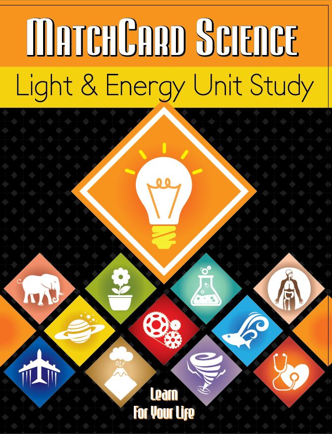 Light & Energy Unit Study Cover