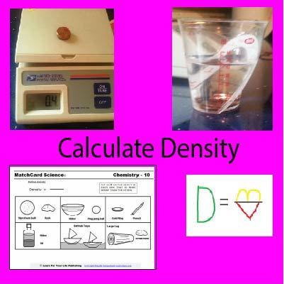 Density formula poster
