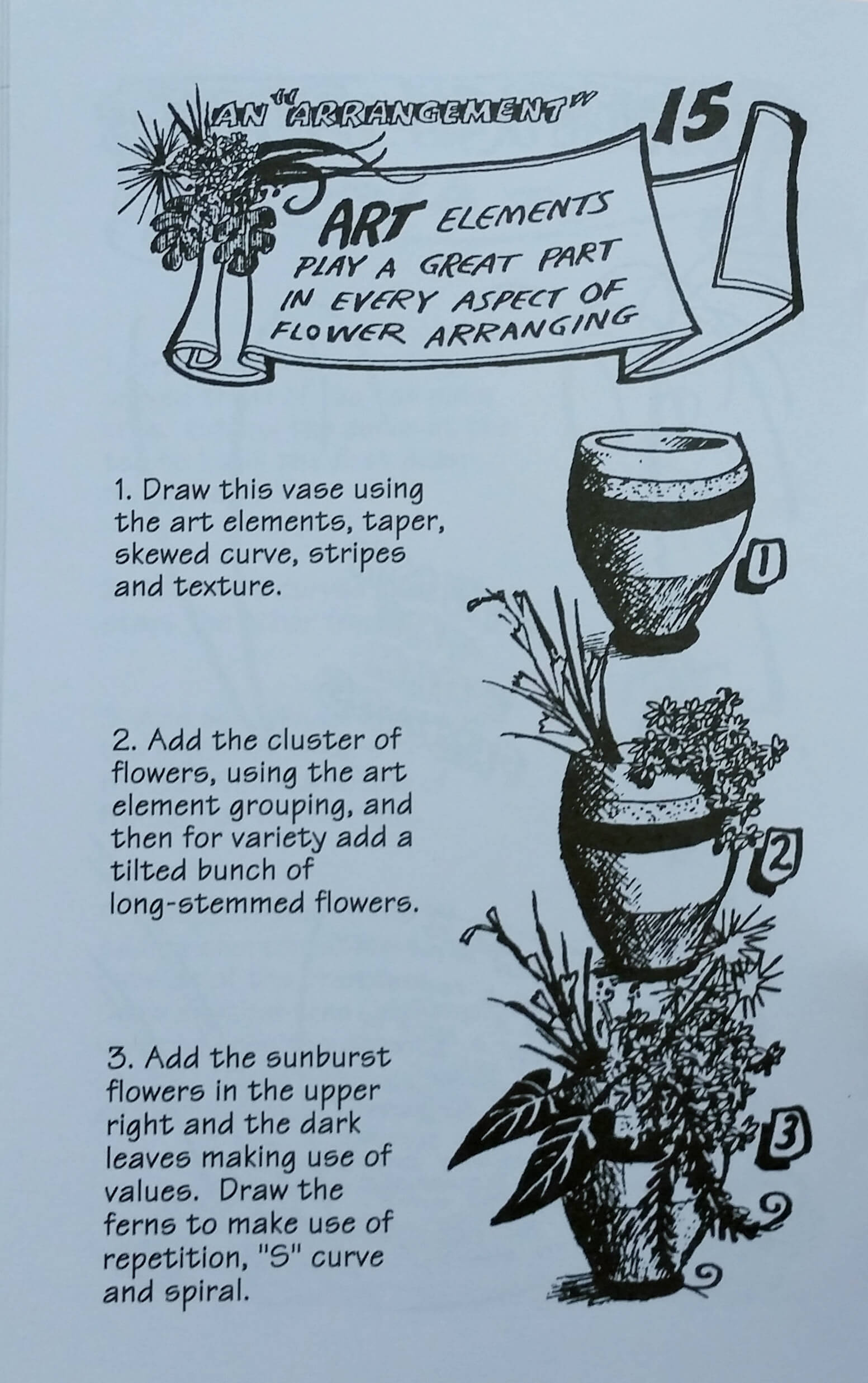 Flowers and Trees Lesson
