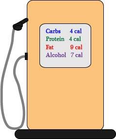 Calorie Gas Pump