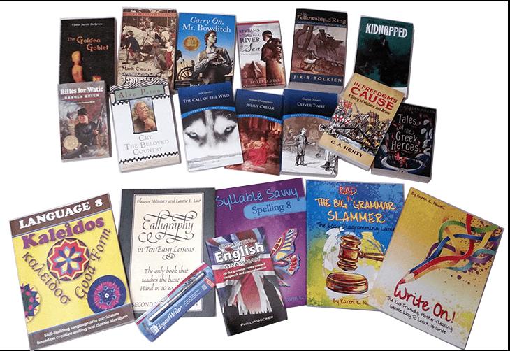 Kaleidos 8 Language Arts Curriculum