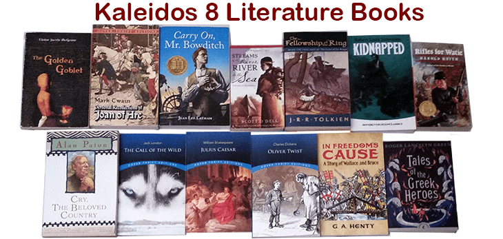 Kaleidos 8 Literature Package