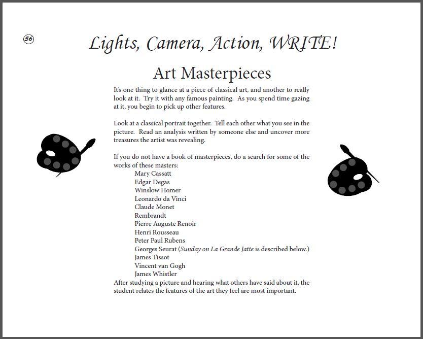 art instructors page