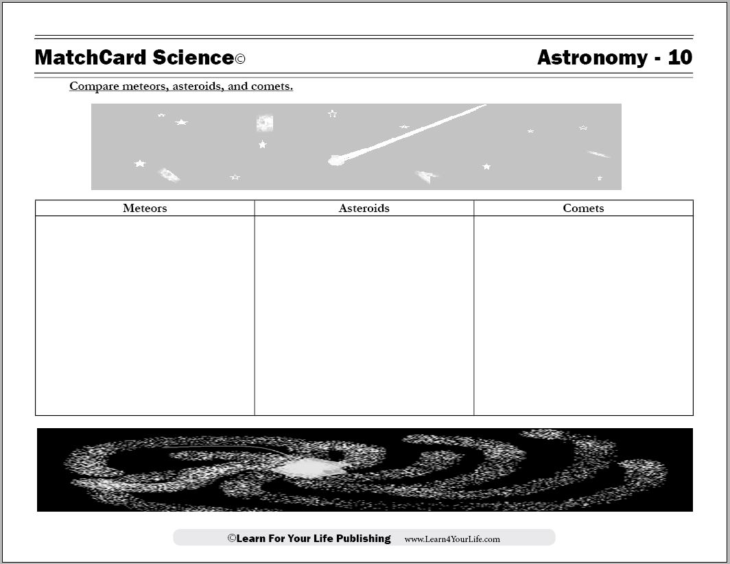 worksheet Types Of Galaxies Worksheet astronomy worksheets moon cycle worksheet