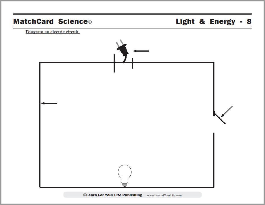 Simple Circuit Diagram Worksheet Wiring Diagrams In Science Photos The Gallery For Gt Circuits Kids Worksheets Parallel With Answers Basic