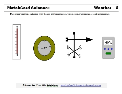 Weather Instruments Worksheet