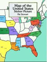united state geography sticker book