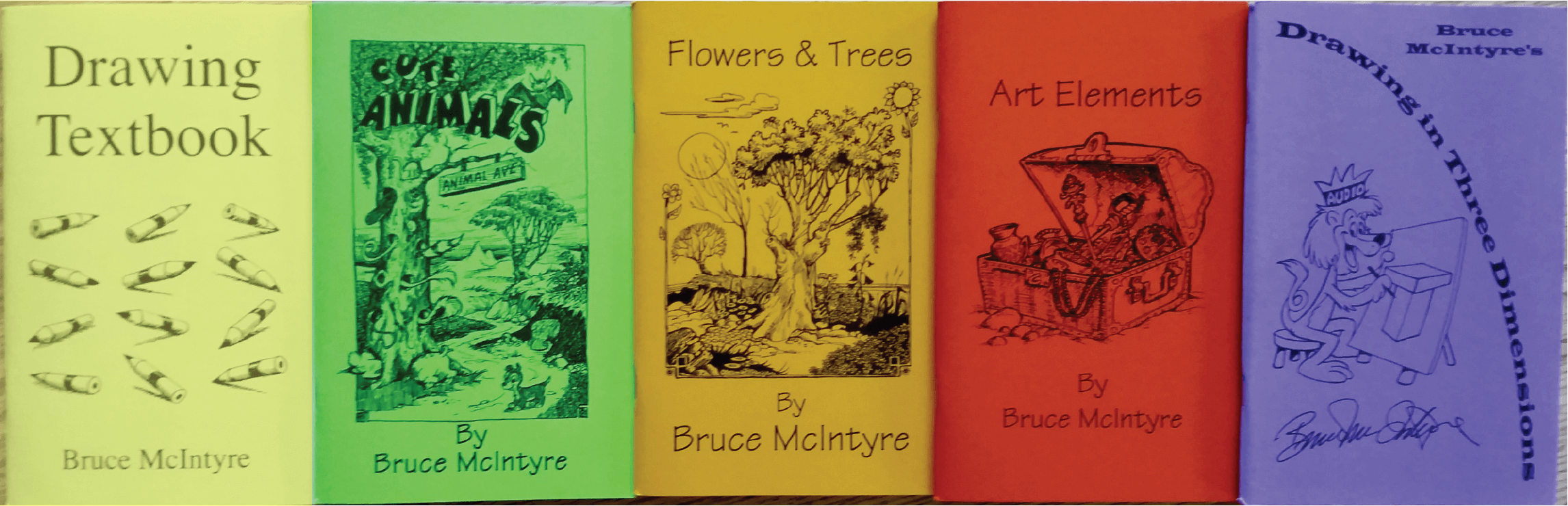 McIntyre Drawing Books