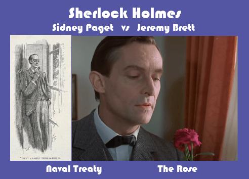 Sherlock Holmes, Paget, and Brett The Rose Speech
