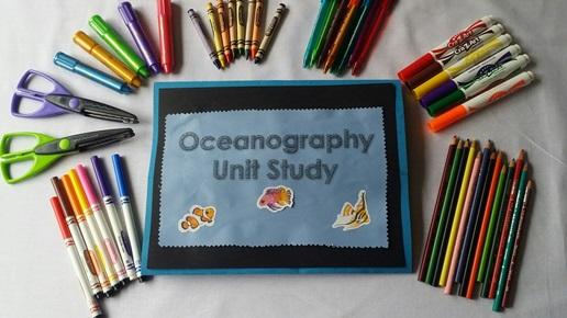 Colorful Ocean Lapbook