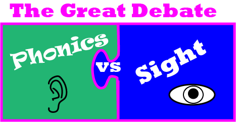 Phonics vs Sight Word Debate