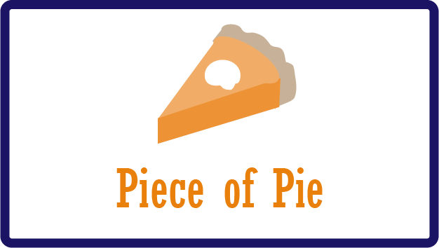 Pie and piece spelling trick