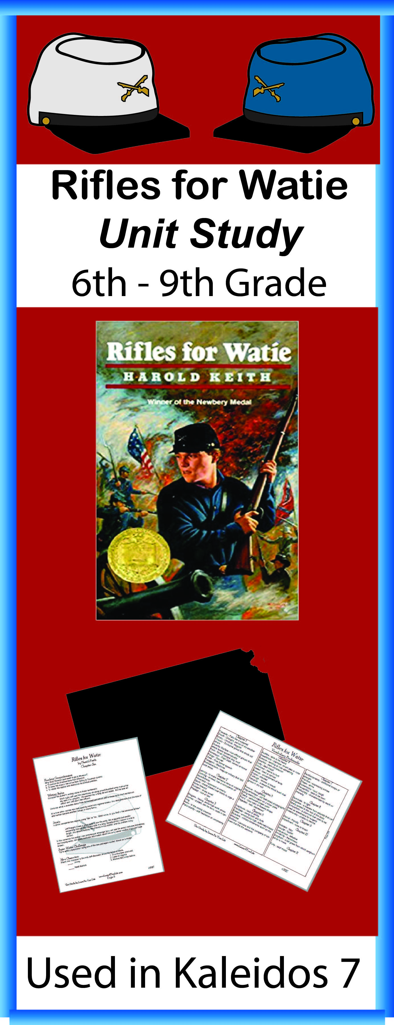 Rifles for Watie Unit Study Poster