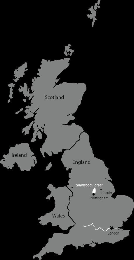 Robin Hood Map