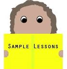 Face looking at sample pages