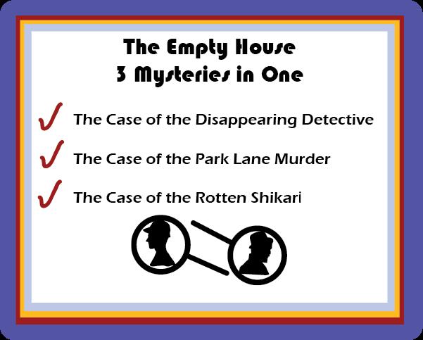 Sherlock Holmes Empty House 3 in 1 story
