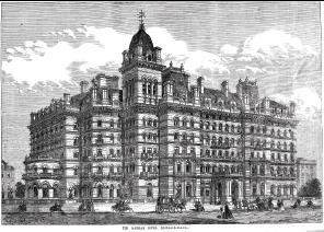 Langham Hotel in Sherlock Holmes