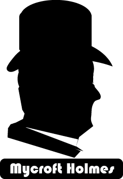 Mycroft Holmes silhouette
