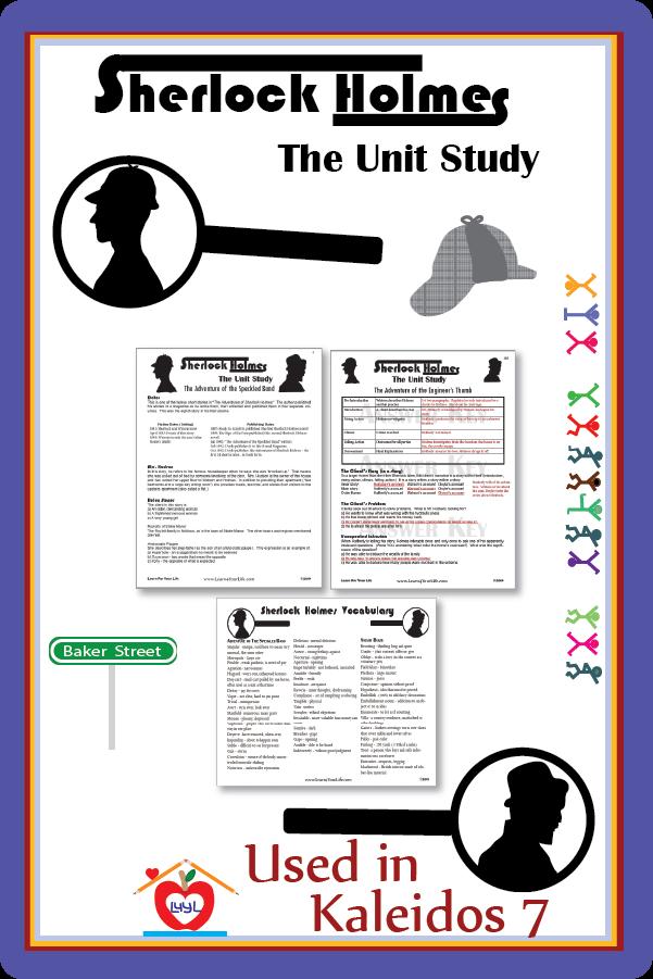 Sherlock Holmes Unit Study