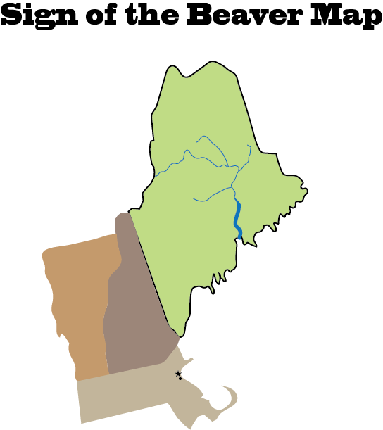Sign of the Beaver Map