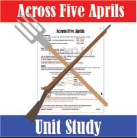 Across Five Aprils Unit Study
