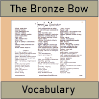 Bronze Bow Vocabulary