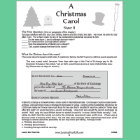 Christmas Carol Unit Study