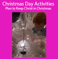 Christmas Day Planner