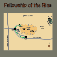 Map for the Fellowship of the Ring